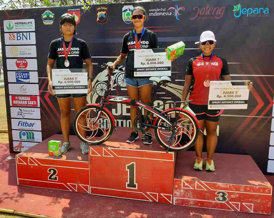 Jepara Triathlon 2019 Diikuti Oleh Ratusan Atlet
