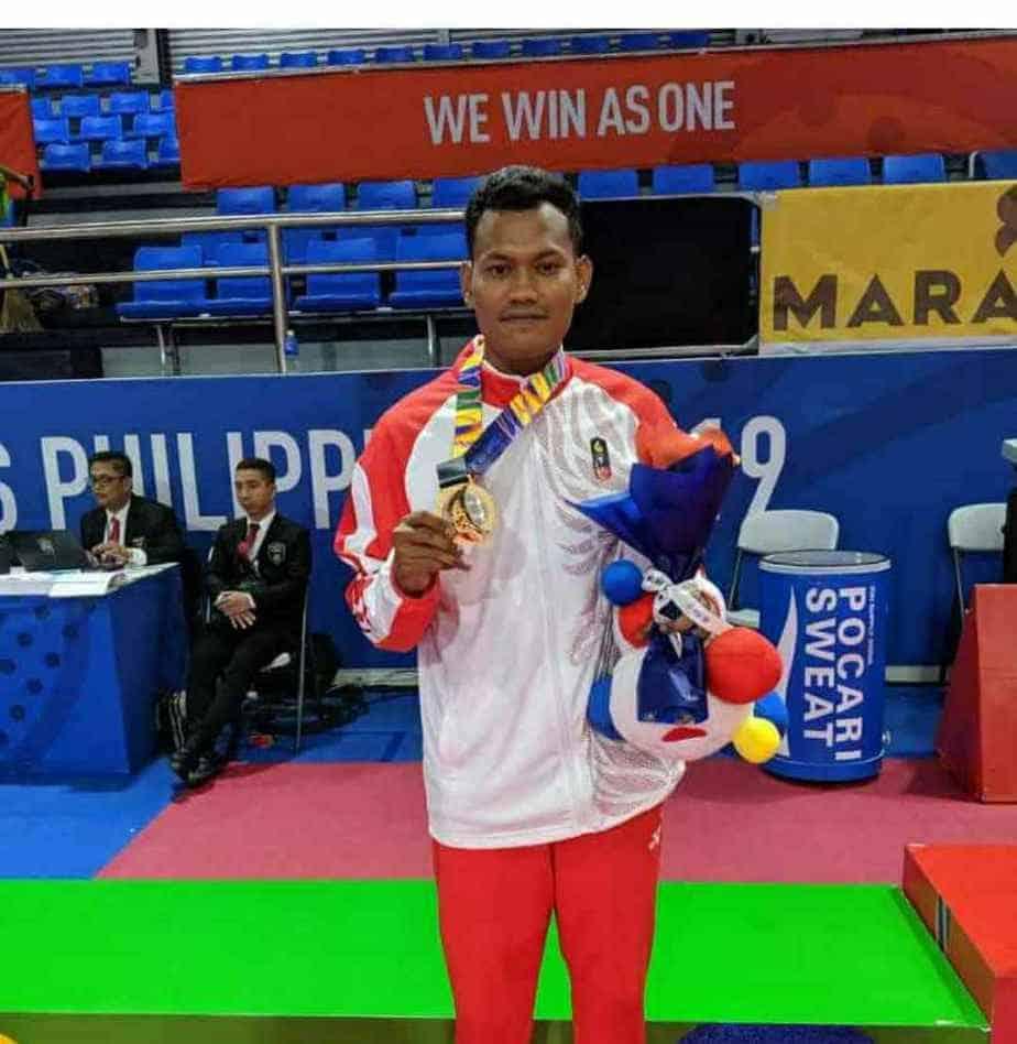 Atlet Jepara Kembali Raih Medali Emas Sea Games Filipina 2019