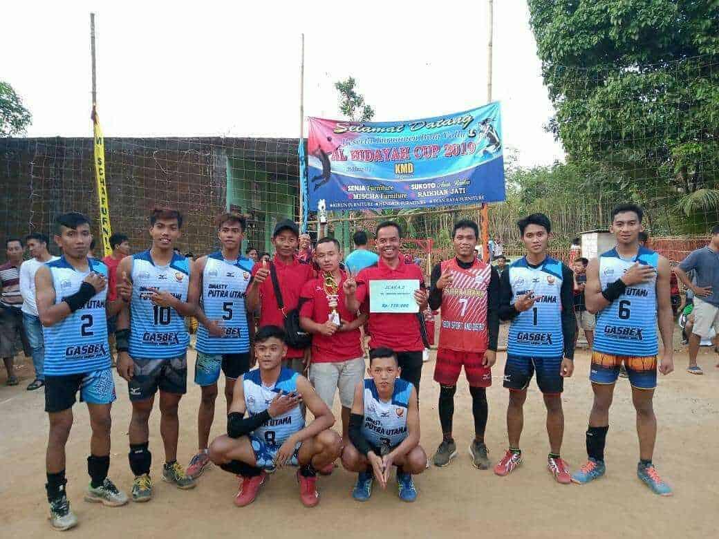 Volgab Guyangan Tim Bola Voli Terbaik Di Jepara