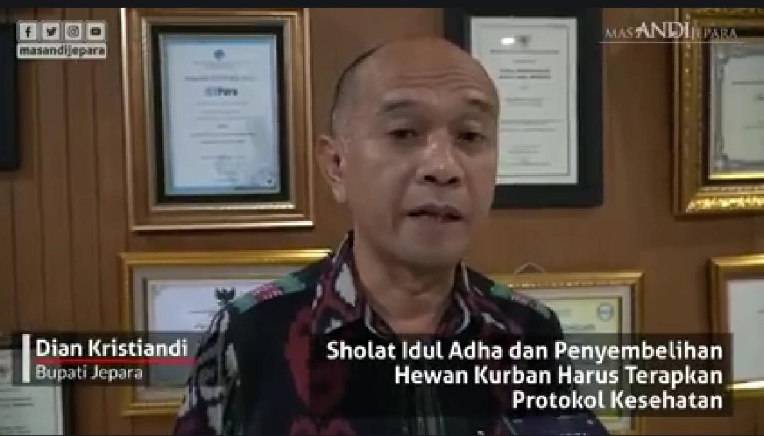 Bupati Jepara: Boleh Sholat ID di Masjid, Namun Dengan Protokol Kesehatan Yang Ketat