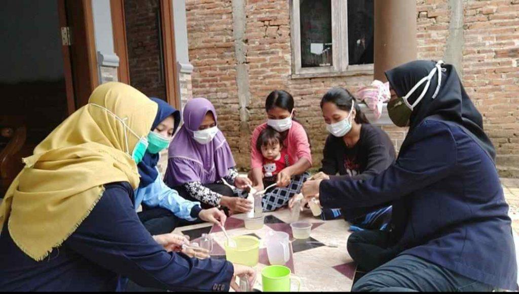 Pembuatan handsanitizer alami
