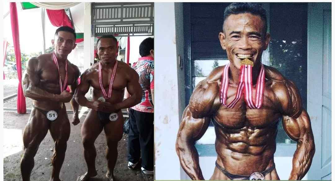 2 Atlet Binaraga Jepara Raih Medali Emas dan Perak
